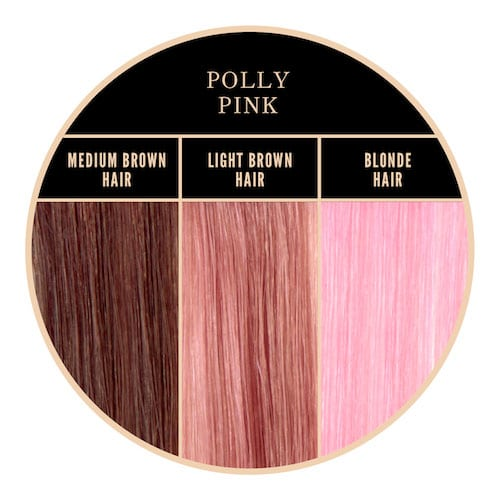 Coloration rose Polly Pink Herman's Amazing chez Color-Mania