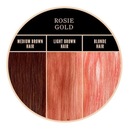Coloration rose gold Rosie Gold Herman's Amazing chez Color-Mania