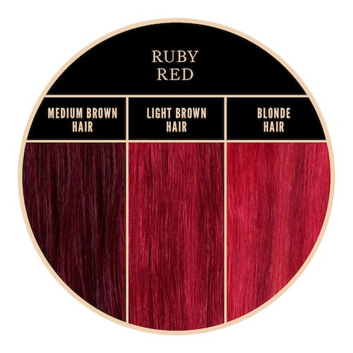 Coloration rouges Ruby Red Herman's Amazing chez Color-Mania