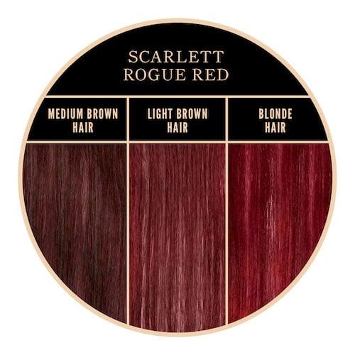 Coloration rouge Scarlett Herman's Amazing chez Color-Mania