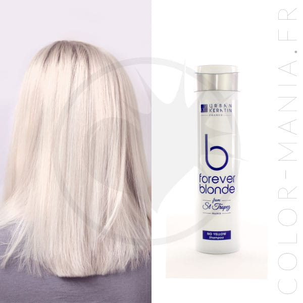 Shampoing Déjaunisseur Forever Blonde 250 ml - Urban Keratin | Color-Mania