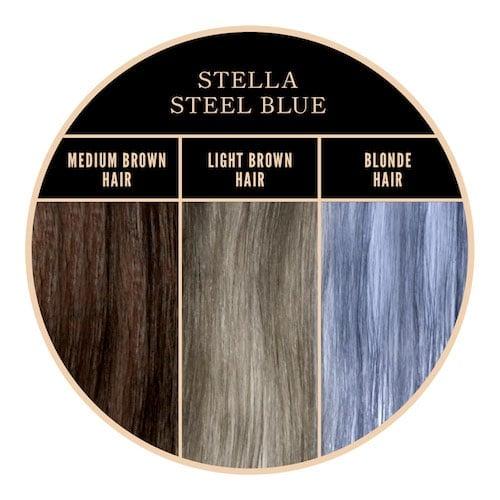 Coloration gris bleuté Stella Steel Herman's Amazing chez Color-Mania