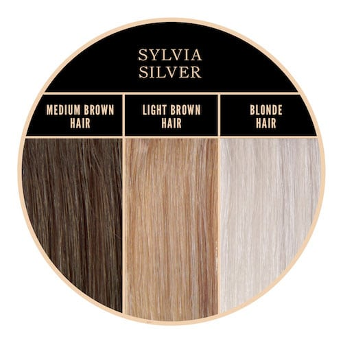 Color gris plateado de Sylvia Silver Herman Amazing en Color-Mania