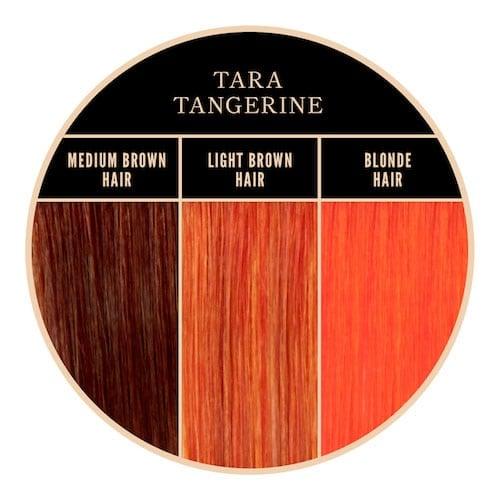 Coloration orange Tangerine Herman's Amazing chez Color-Mania