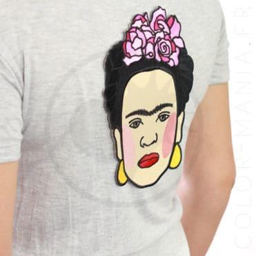 Patch Grand Format Frida Kahlo | Color-Mania.fr