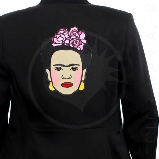 Parche de formato grande Frida Kahlo | Color-Mania
