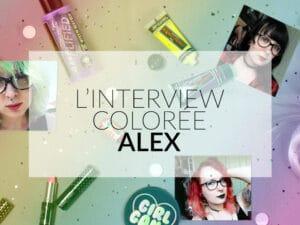 L'interview cheveux colorés de Color-Mania : Alex