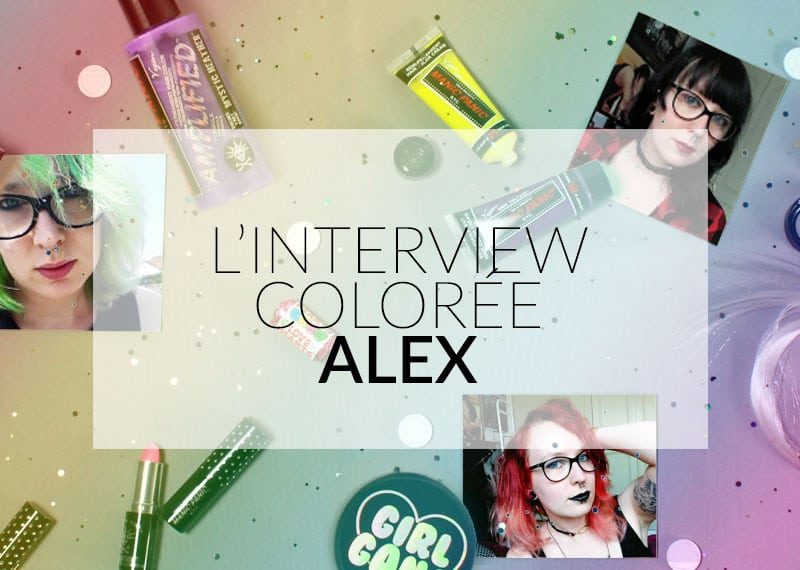 Entrevista de cabelos coloridos da Color-Mania: Alex