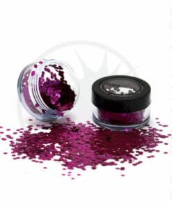 Paillettes Biodégradables Rose Wild Orchid - PaintGlow | Color-Mania.fr