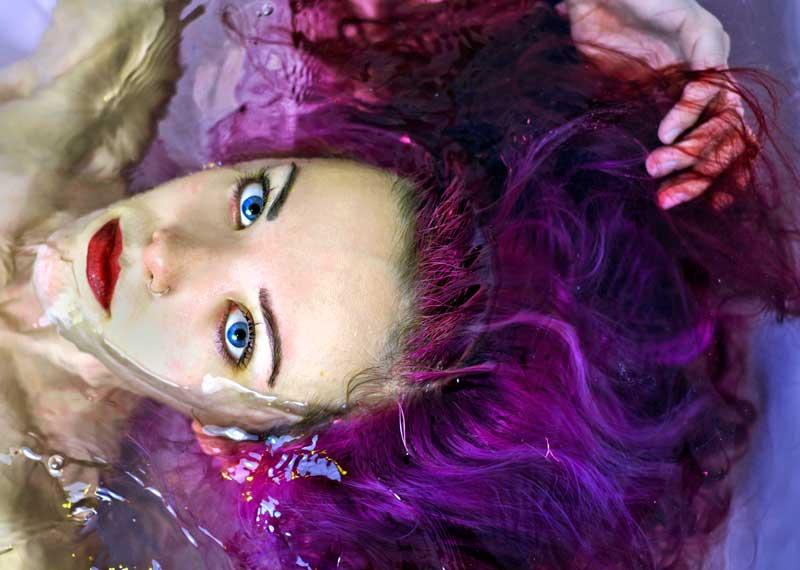 Come fare un colore viola?