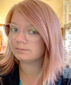 Merci Morgan :) Toner Permanent Rose Gold - Pulp Riot | Color-Mania