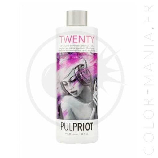 Crème Oxydante Premium Developer 20 volumes - Pulp Riot | Color-Mania
