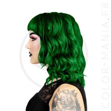 Coloration Cheveux Vert Foncé Maggie - Herman's Amazing | Color-Mania