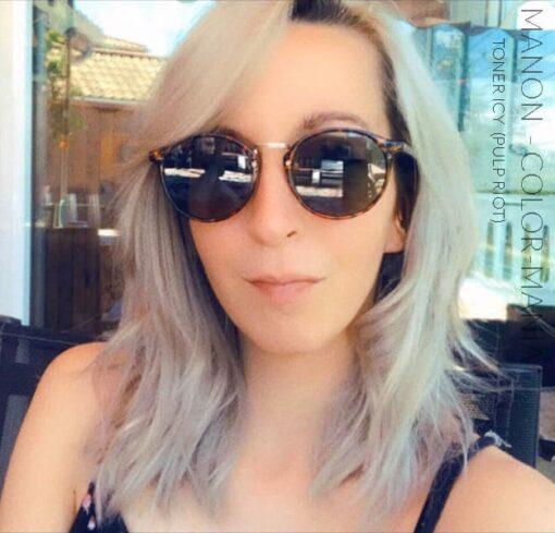 Merci Manon :) Toner Permanent Blanc Glacé Icy - Pulp Riot | Color-Mania