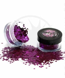 Paillettes Biodégradables Violet Berry Crush - PaintGlow | Color-Mania.fr