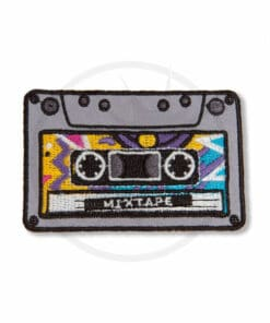 Patch Cassette Audio Mixtape | Color-Mania.fr