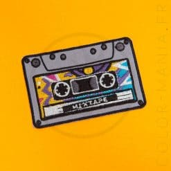 Mixtape Audio Cassette Patch | Color-Mania.fr