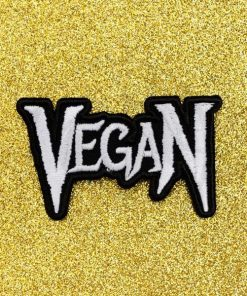 Patch Vegan Métal Noir & Blanc | Color-Mania