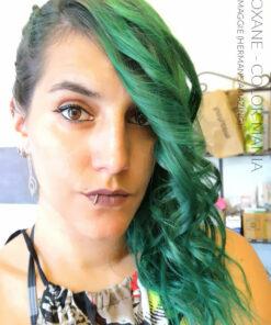 Merci Roxane :) Coloration Cheveux Vert Foncé Maggie - Herman's Amazing | Color-Mania