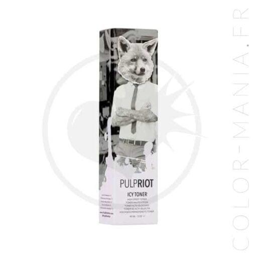 Tóner blanco helado permanente - Alboroto de pulpa | Color-Mania