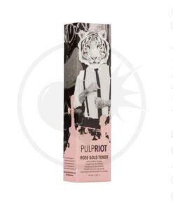 Toner para el cabello de oro rosa - Pulp Riot | Color-Mania