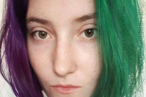 Merci @blueberry020204 :) Coloration Cheveux Violet Patsy Purple - Herman's Amazing | Color-Mania