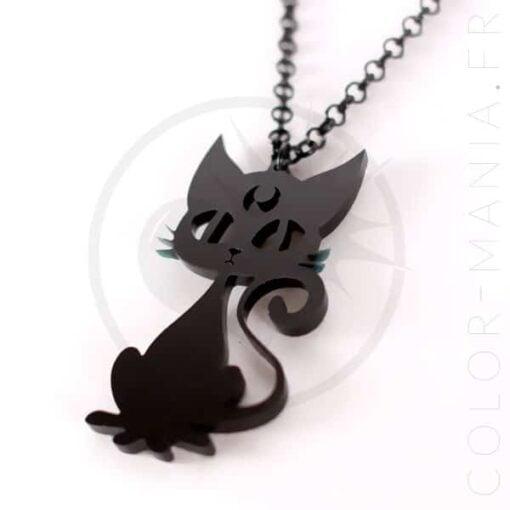 Collier Chat Noir Luna | Color-Mania