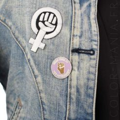 Pin's Lilas «Grab Themby the Patriarchy» | Color-Mania