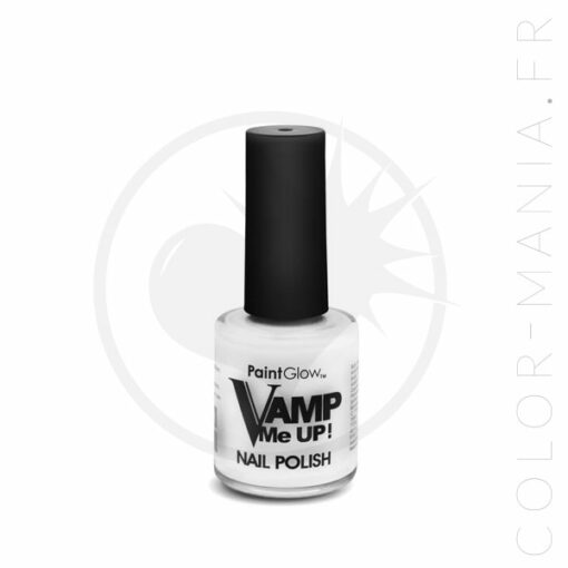 Vernis à Ongles Blanc Neige - Paintglow   Color-Mania.fr