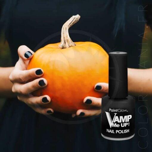 Esmalte de uñas negro - Paintglow | Color-Mania