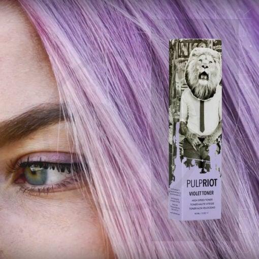 Toner Permanent Violet - Pulp Riot   Color-Mania