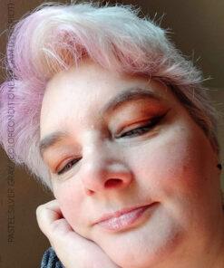 Merci @nathy_auteur :) Soin Repigmentant Gris Pastel Silver Gray   Color-Mania