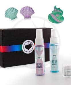 Kit mermaid make up et sprays cheveux