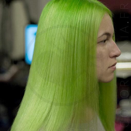 Soin Repigmentant Vert Intense Lush Green   Color-Mania