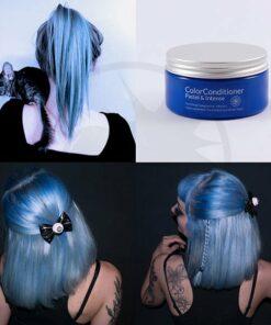 Blau blau pastellfarbenes Pastellpflege | Farblich Mania
