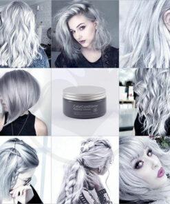 Soin Repigmentant Gris Pastel Silver Gray | Color-Mania