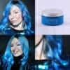Ripigmentazione blu pastello cielo blu | Color-Mania
