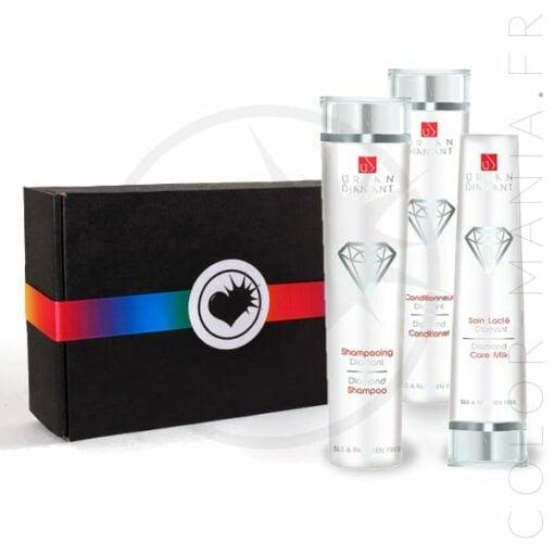 Coffret Cadeau Soin Cheveux Diamant - Urban Keratin | Color-Mania.fr