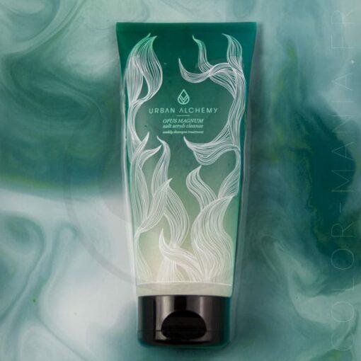 Shampoing aux Sels Exfoliants Salt Scrub Cleanse - Urban Alchemy | Color-Mania