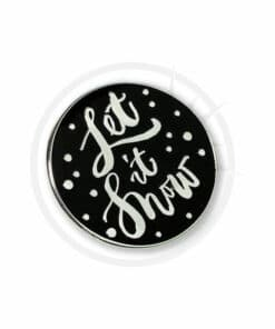 Pin's Let It Snow | Color-Mania