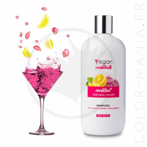 Shampoing Cheveux Courts 500 ml - Vegan Cocktails   Color-Mania
