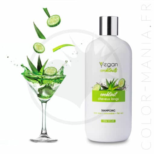 Shampoing Cheveux Longs 500 ml - Vegan Cocktails | Color-Mania