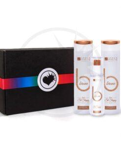 Boite Cadeau Soin Cheveux Brune - Urban Keratin | Color-Mania.fr
