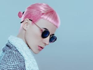 la coloration pastel pour les cheveux foncés