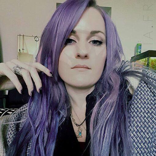 Résultat estimé du soin repigmentant pastel violet