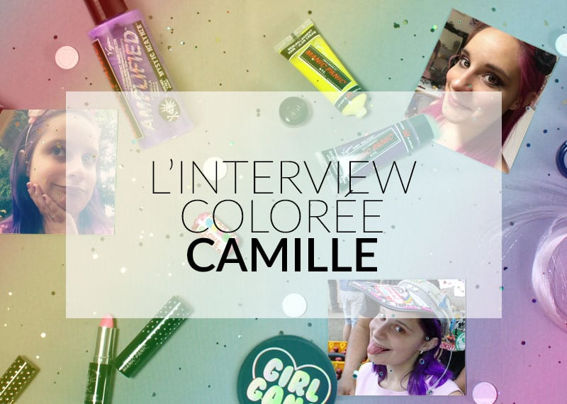 Interview colorée Color-Mania - Camille