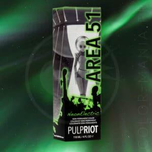 UV Area 51 Coloração Verde - Polpa | Cor-Mania