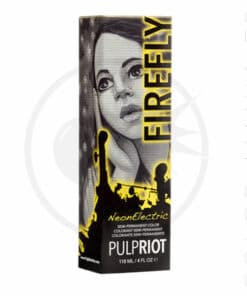 Packaging coloration cheveux Firefly jaune UV Pulp Riot