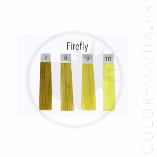 Coloration Cheveux Jaune UV Firefly - Pulp Riot | Color-Mania