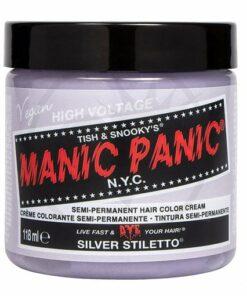 Coloration Manic Panic Silver Stiletto - Classic | Color-Mania